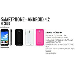 "a700b7a25f3 Telefono Celular Xion Xi-Ce580 Android 4.2 Dualcam Pant.5"""