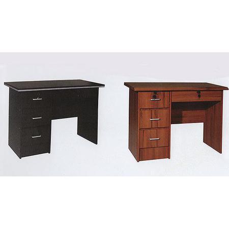 Escritorio lowkin 899 madera con llave viaconfort todo para tu hogar for Muebles de oficina con llave