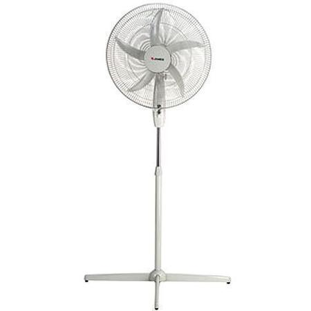 Ventilador De Pie James Vp 20bk/20m  Negro/Blanco