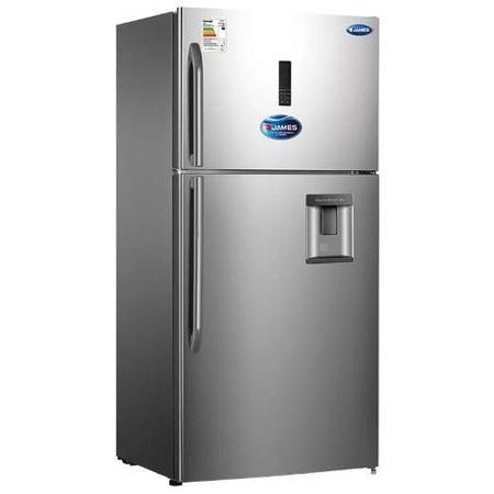 Refrigerador James Rj 72k Simil A.Inox.Display Led Touch